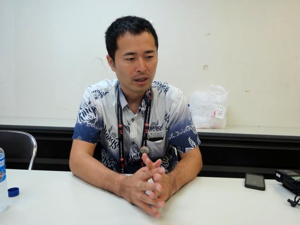 琉球ゴールデンキングス 営業部 部長 片野竜三さん