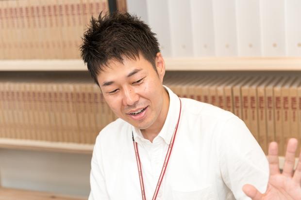 織田威司さん(株式会社良品計画 衣服・雑貨部 子供担当 課長代行)