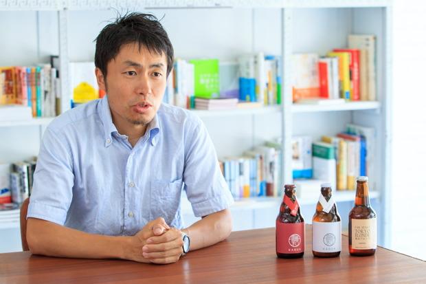 日本クラフトビール株式会社代表取締役・山田司朗さん