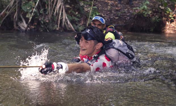 2013年にはブラジルのジャングルマラソンにも挑戦しました