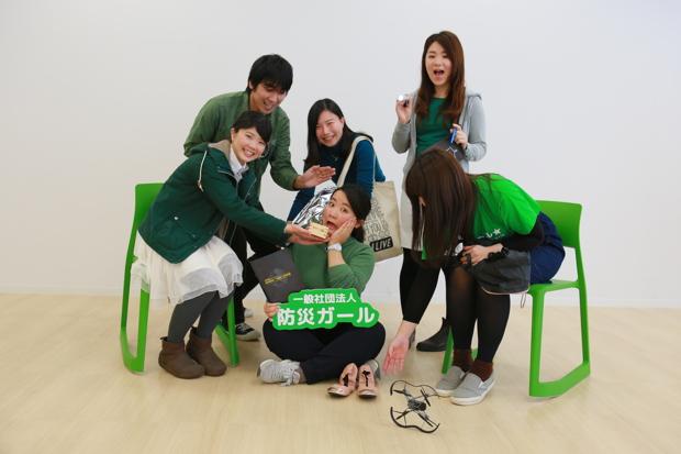 平均年齢25歳の若いメンバーたち。SNSなどのテクノロジーを使いこなし、ボランティアでも仕事のスピード感は抜群
