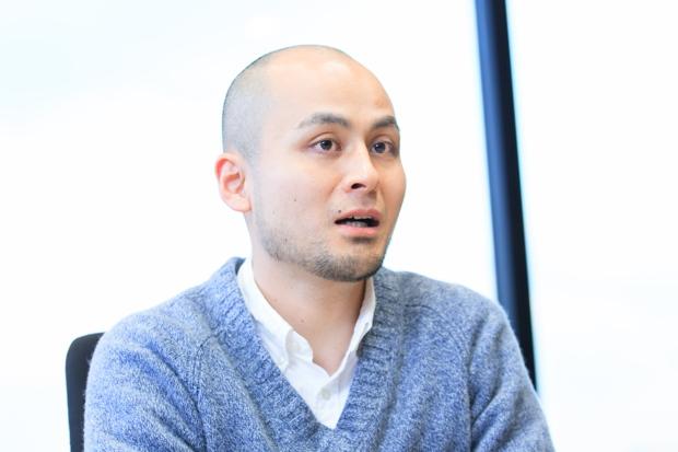 ライフネット・肥田康宏。第一子が9月に生まれたばかり。育児休暇は1か月半取得。