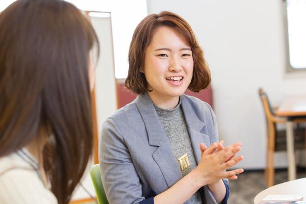 榎本奈々さん(立教大学2年)