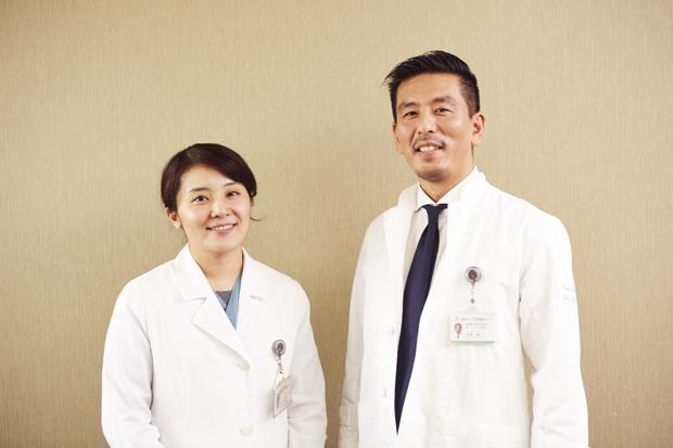 写真左:東京ベイ・浦安市川医療センター救急科 溝辺倫子先生、右:同センター長補佐・救急科部長 志賀隆先生