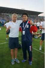 400mで優勝したウクライナ代表選手と