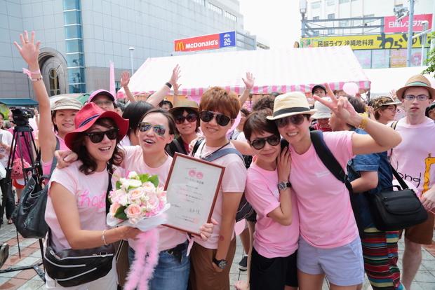 ピンクドット沖縄 イベントのスナップ