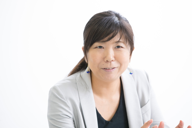 ライフネット生命 人事総務部・関根和子。小学校3年生の女の子がいる