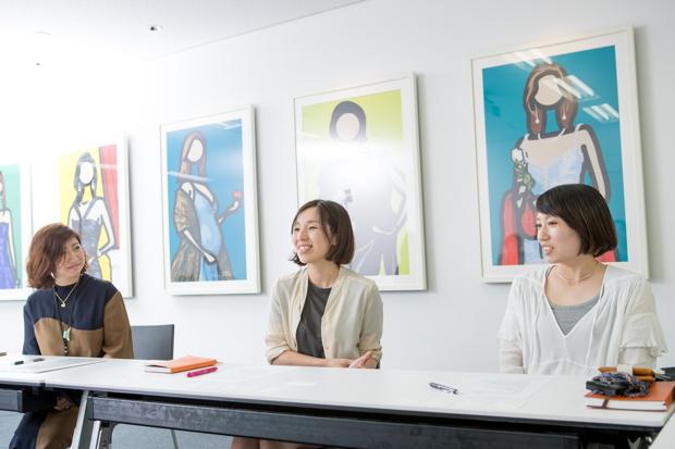 写真左から、スタートトゥデイ 大村さん、今野さん、大牟田さん