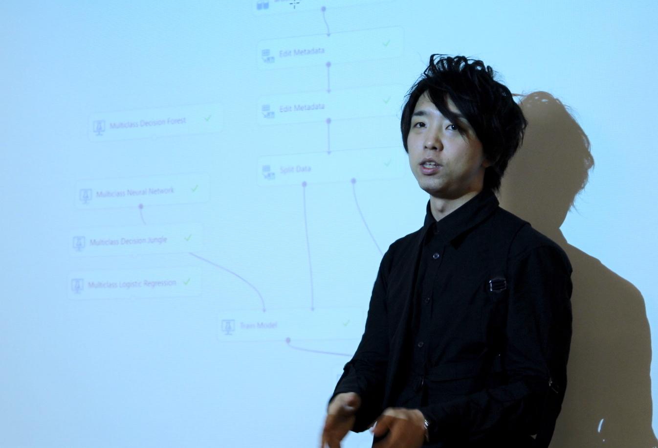 落合陽一さん(筑波大学助教、デジタルネイチャー研究室主宰、コンピュータ研究者、メディアアーティスト)